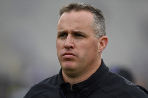 Pat Fitzgerald not happy about Northwestern playing Ohio State on a Friday