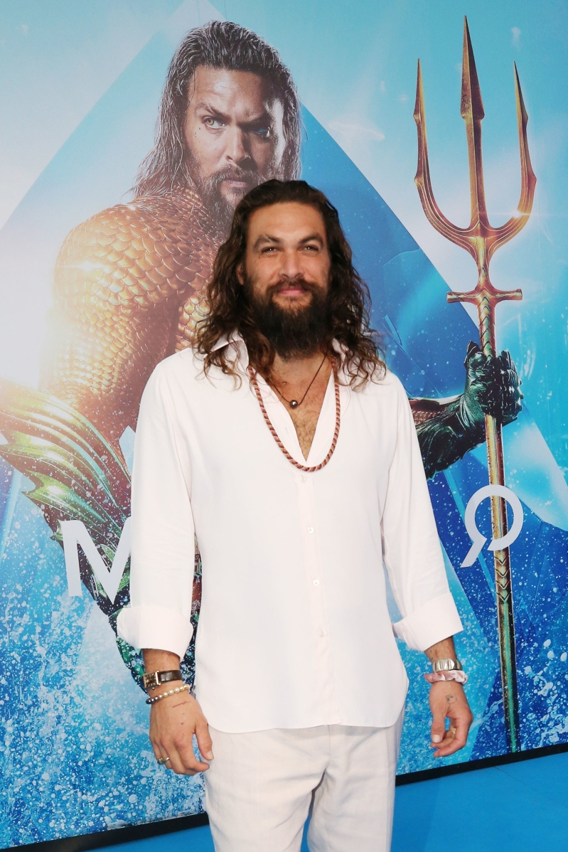 Jason Mamoa pitched in for Aquaman 2