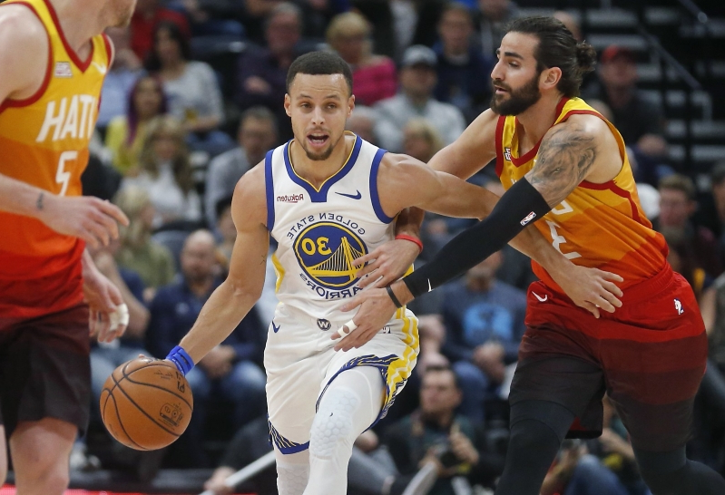 4bdad9d2620 Sport: Poor ball movement dooms Warriors in loss to Jazz - PressFrom ...