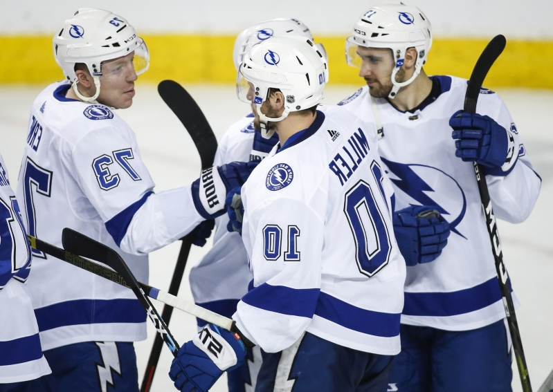 Lightning rally for shootout win over Flames