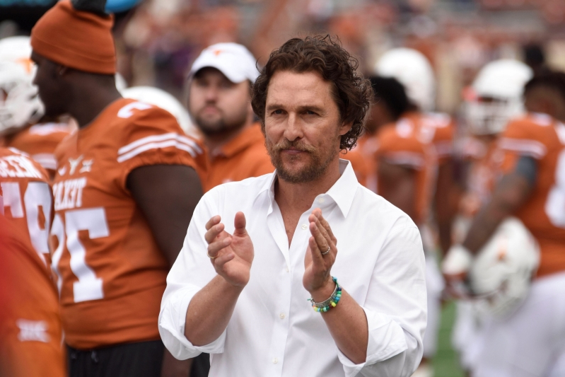 Texas alum Matthew McConaughey to be 'Minister of Culture' for Longhorns' basketball arena