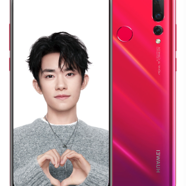 Huawei Nova 4 pushes the new 'hole-punch' notch trend further