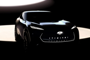 Infiniti SUV Concept for Detroit Previews Brand's First Electric Vehicle