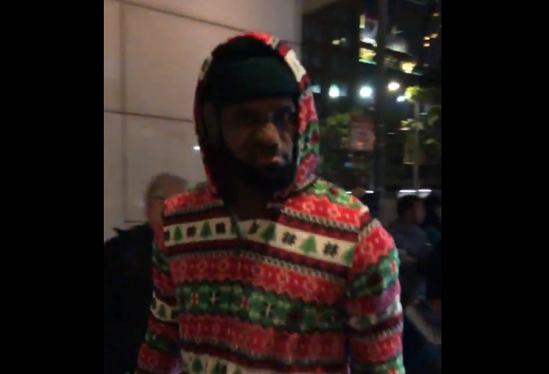 8a25c62ecffe8 Sport  LeBron James kicks off Christmas with an awesome holiday ...