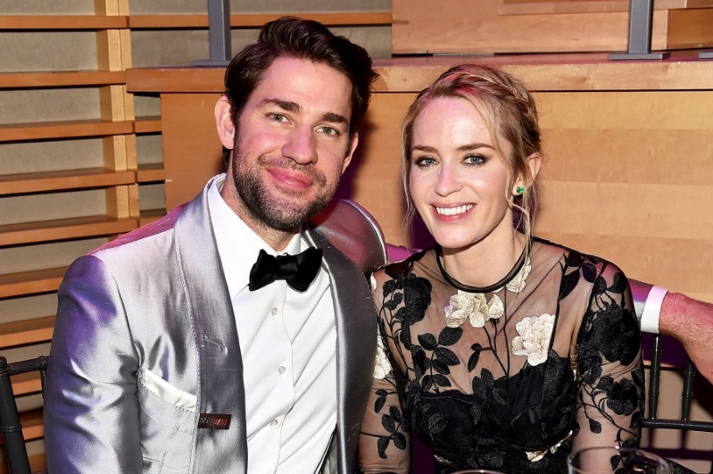 John Krasinski Emily Blunt Wedding.Entertainment Why Emily Blunt And John Krasinski S Marriage