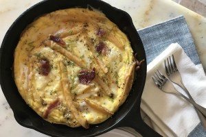 French Fry Frittata—The Most Delicious Way to Use Up Sad, Leftover Fries