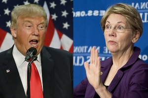 Trump takes first swings at Warren after she enters 2020 fray