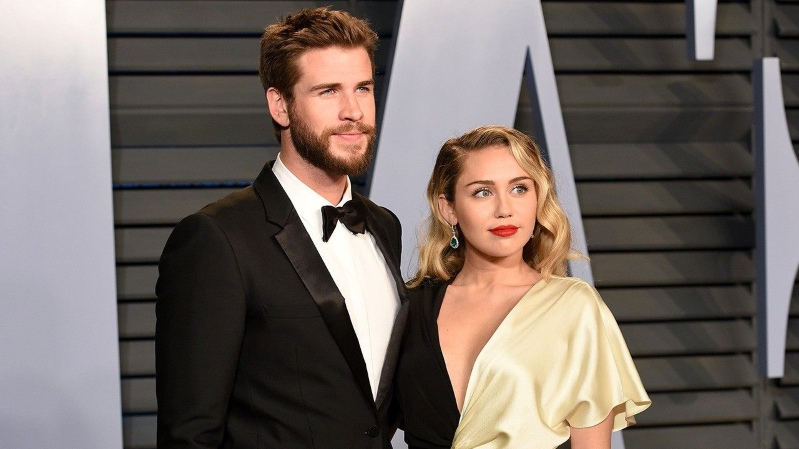 Miley Cyrus Spends New Year's With Liam Hemsworth's Family After Surprise Wedding