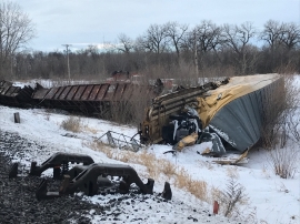 Canada: 2 freight trains derail east of Portage la Prairie