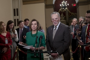 Democratic leaders face backlash if they compromise on wall