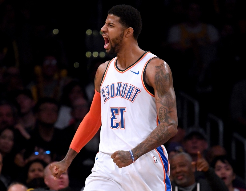 Opinion: Thunder's Paul George was right to snub Los Angeles, and Lakers fans just proved it