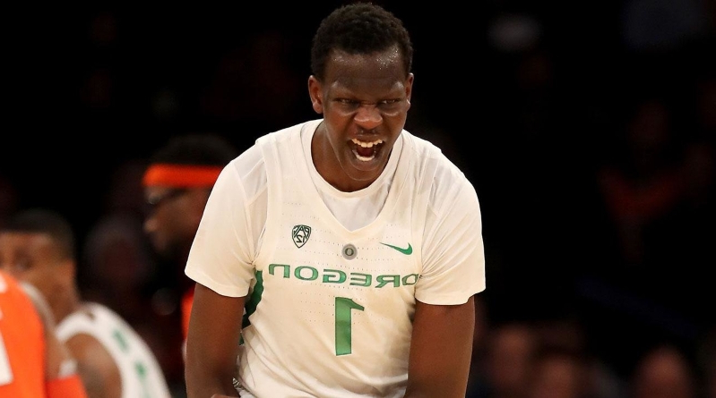 save off d3773 b9fb3 Sport: Report: Oregon's Bol Bol Likely Out for Season Due to ...