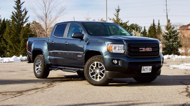 Auto Shows Test Drive 2019 Gmc Canyon All Terrain Pressfrom Canada