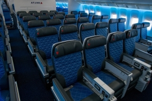 Delta to Debut 777 With All Four Seat Experiences