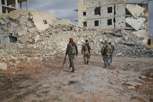 Jihadists advance against rebels in northern Syria: monitor
