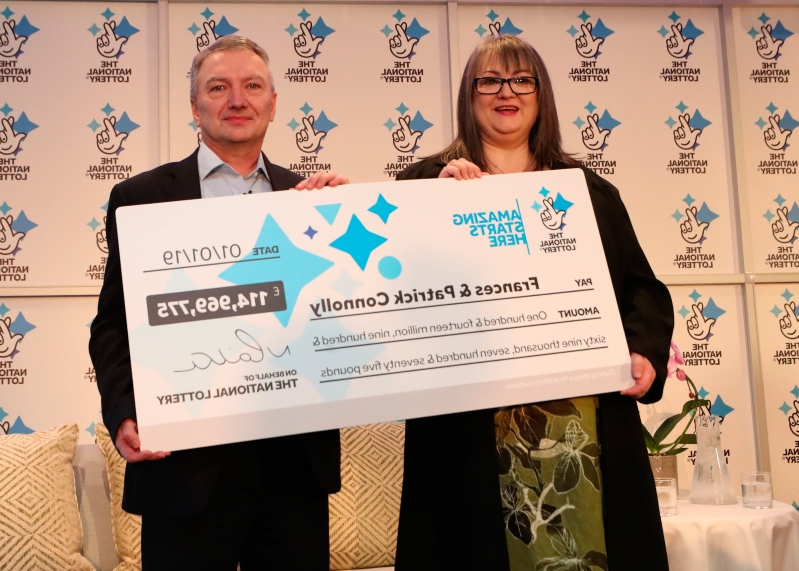 Revealed: Co Armagh couple who scooped €130m EuroMillions win