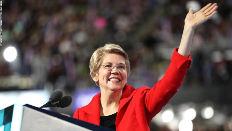 Warren's whirlwind week ends with a new test in Iowa