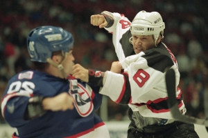 Ex-Devils enforcer Peluso sues team, Lamoriello over head injuries
