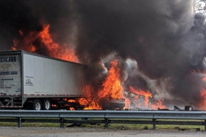 Five children headed for Disney World among seven dead in fiery Florida highway crash