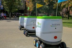 PepsiCo is rolling out a fleet of robots to bring snacks to college students