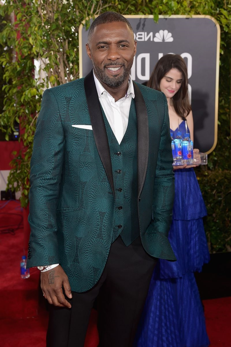 Idris Elba Made a Green Suit Work Because of Course He Did