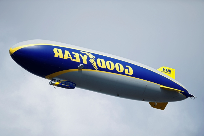 Rare air: Goodyear Blimp honored with Hall of Fame induction