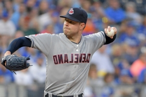 Report: Indians, Dodgers had 'serious' talks about Kluber, Bauer