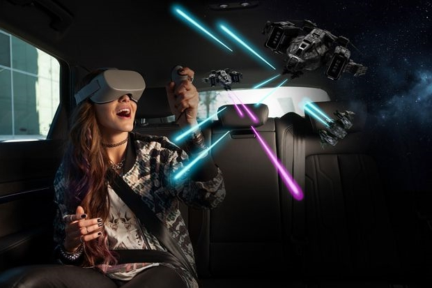 Audi, Disney bring VR games and movies into your car at CES 2019