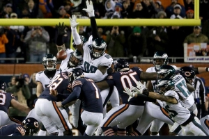 NFL officially changes Cody Parkey missed FG to a block by Eagles Treyvon Hester