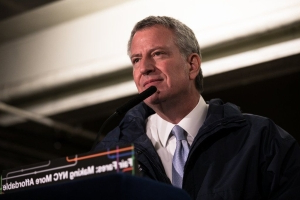 NYC to provide a $100M 'public option' for healthcare to city's 600,000 uninsured, de Blasio says