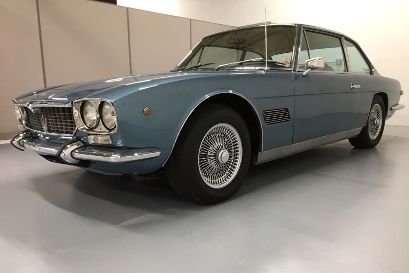 This 1971 Maserati Mexico Is Super Rare (and Might Be a Super Value)