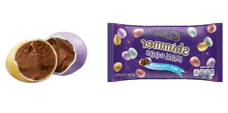 Food: Cadbury's New Mini Eggs Are Covered In A Shimmery Shell, And