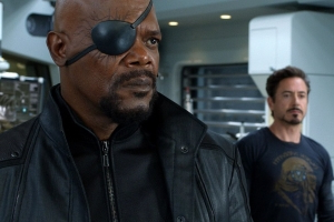 Captain Marvel will reveal what happened to Nick Fury's eye