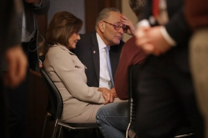 Fact-checking the Democratic response: A look at the claims of Pelosi and Schumer