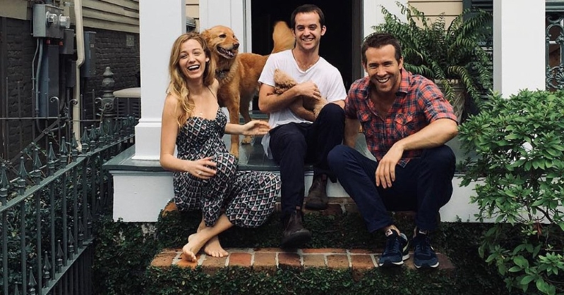 Entertainment Ryan Reynolds Posts Adorable Photo With Blake Lively