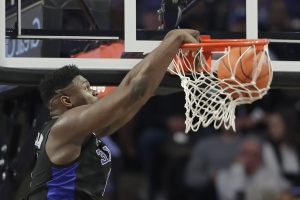 Williamson scores 30, No. 1 Duke routs Wake Forest 87-65