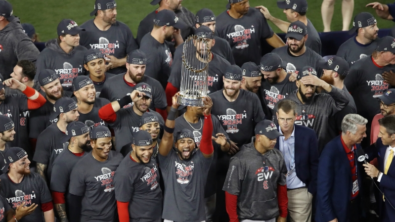 Sport: Astros, Red Sox, Dodgers top first 2019 MLB win-total