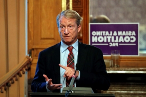 Billionaire Steyer says he won't run for president in 2020