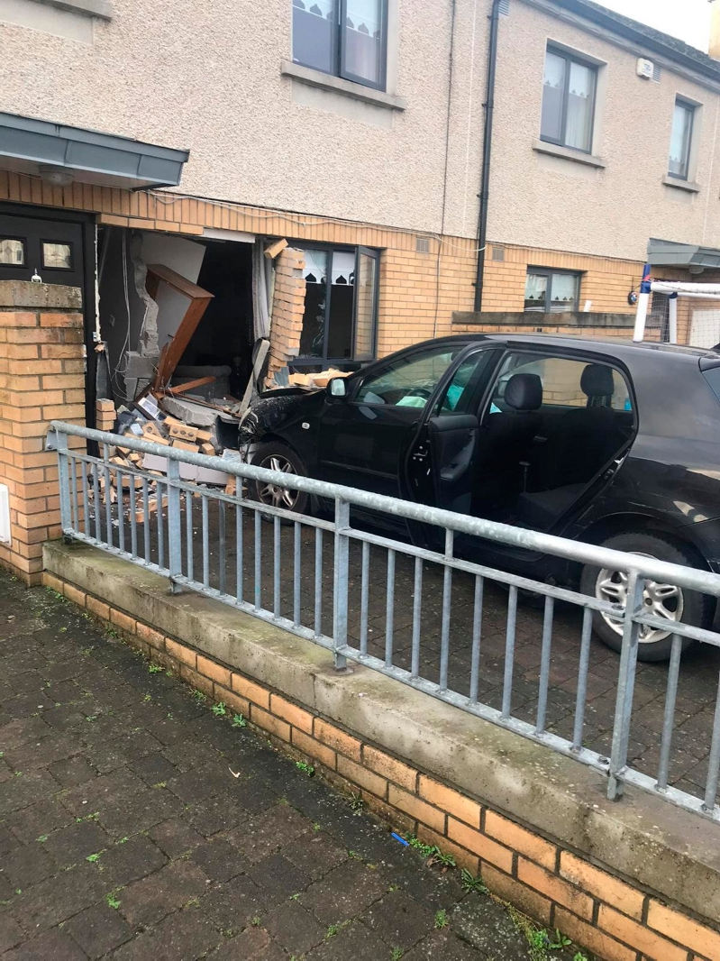 'I didn't know what happened' - family forced to evacuate home after learner driver crashes through house