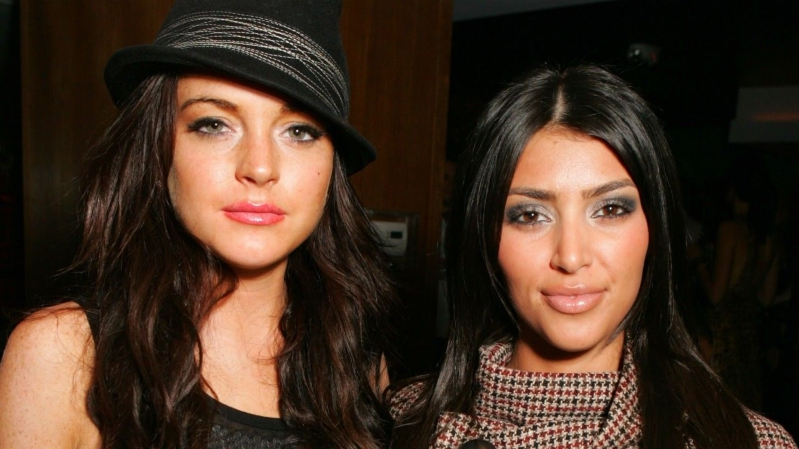 Lindsay Lohan Responds to Kim Kardashian's Clap Back About Her Accents