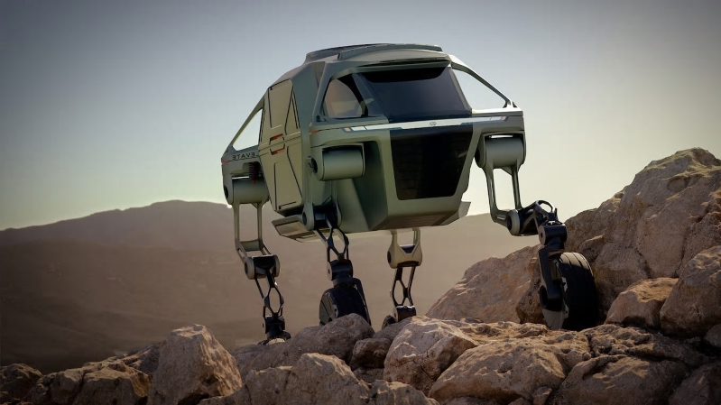 Meet the Elevate UMV, Hyundai's Robotics-Electric Car Hybrid