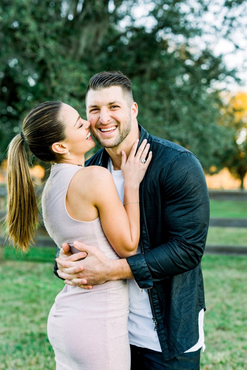 Sport Tim Tebow Is Engaged To Former Miss Universe Demi Leigh Nel