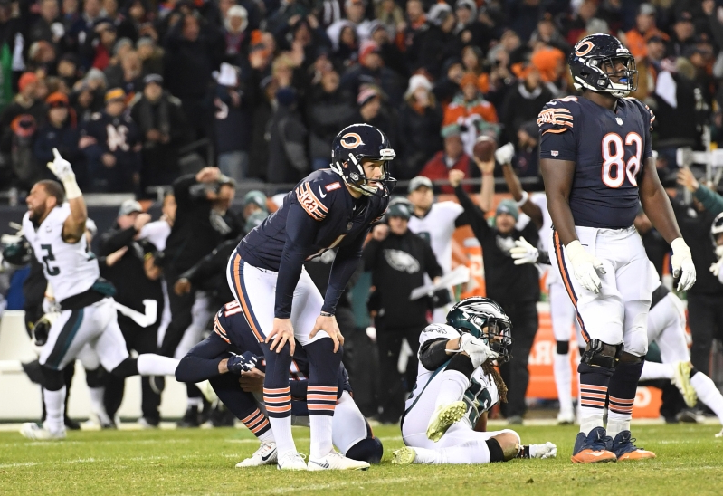 Cody Parkey opens up about missed kick, says he has avoided social media