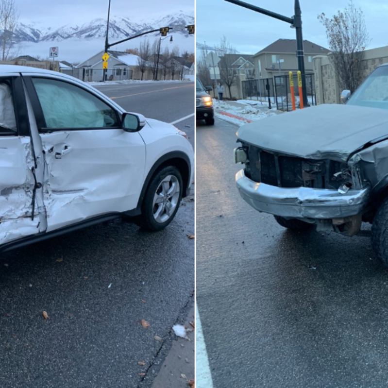 Driver crashes car doing 'Bird Box challenge'