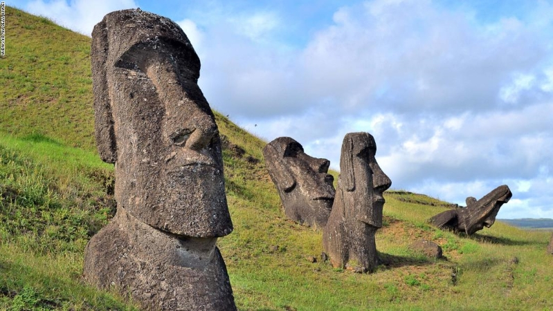 Easter Island statues: researchers explain their location