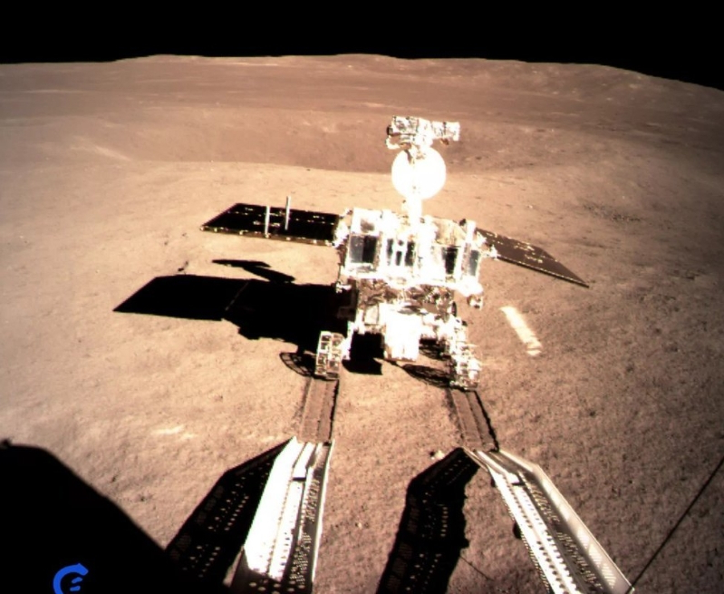 First panoramas from China moon lander