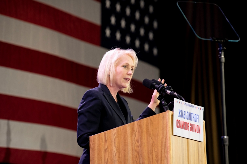 Gillibrand Hires New Aide, Signaling Presidential Run Is Imminent