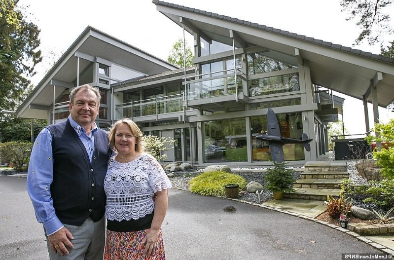 Here's what you could have won! Fury as winner of raffle for couple's £3million riverside home are told they WON'T get the house because they didn't sell enough tickets (but they'll get a £110,000 cash prize instead)