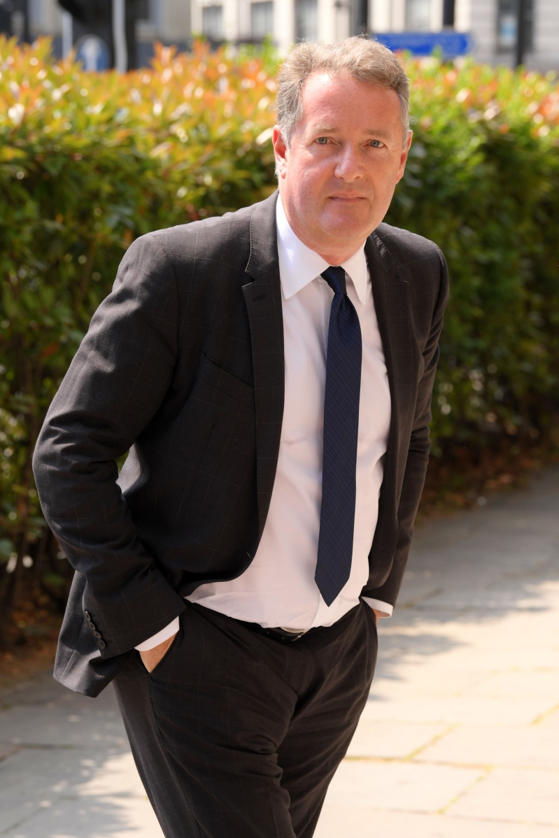 Piers Morgan, 53, admitted to hospital, jokes he's 'not dying'