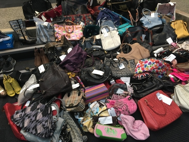 Richmond RCMP discover stash of stolen luxury goods